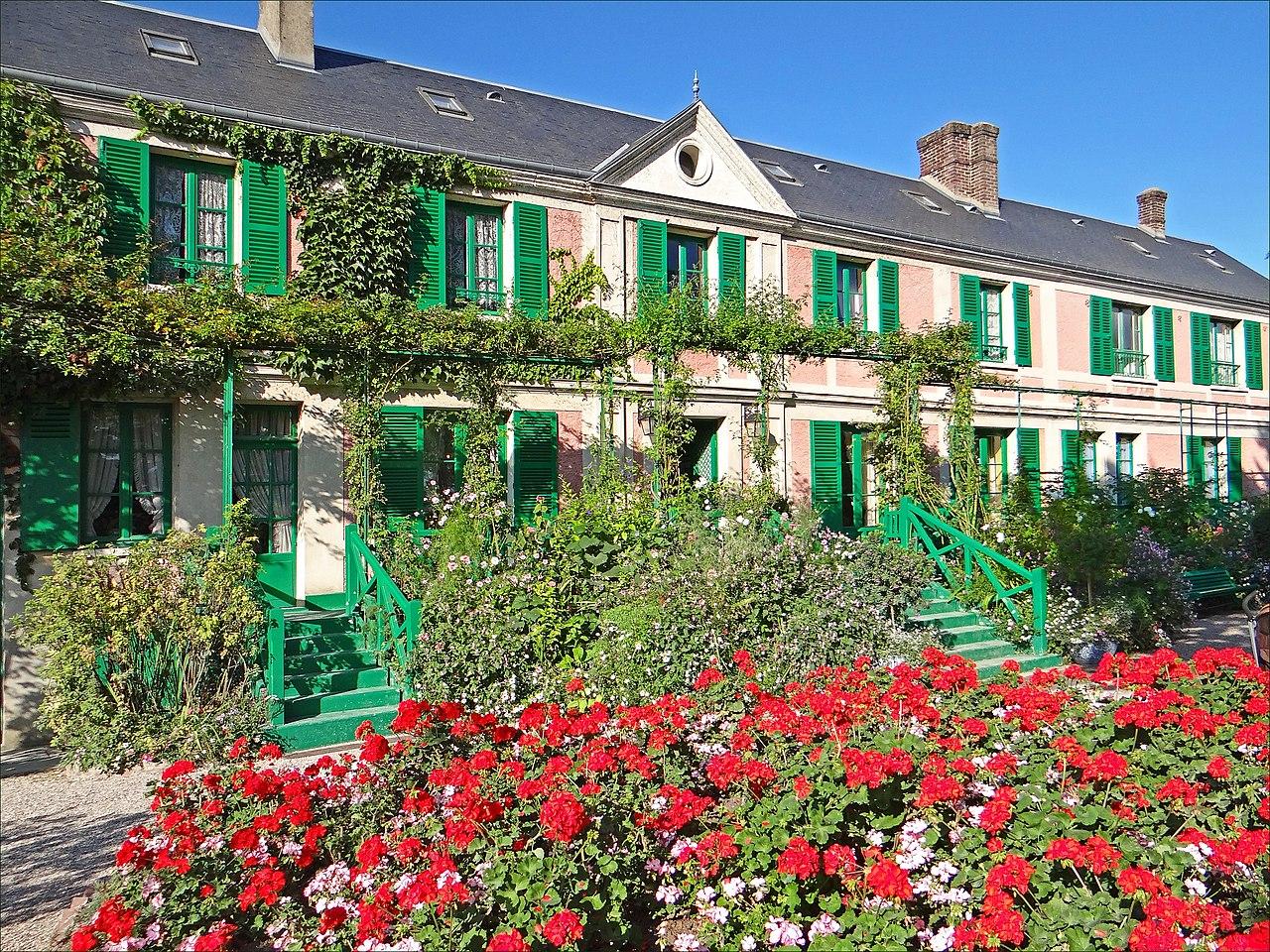 FileLa maison de Claude Monet Giverny 12.jpg ...