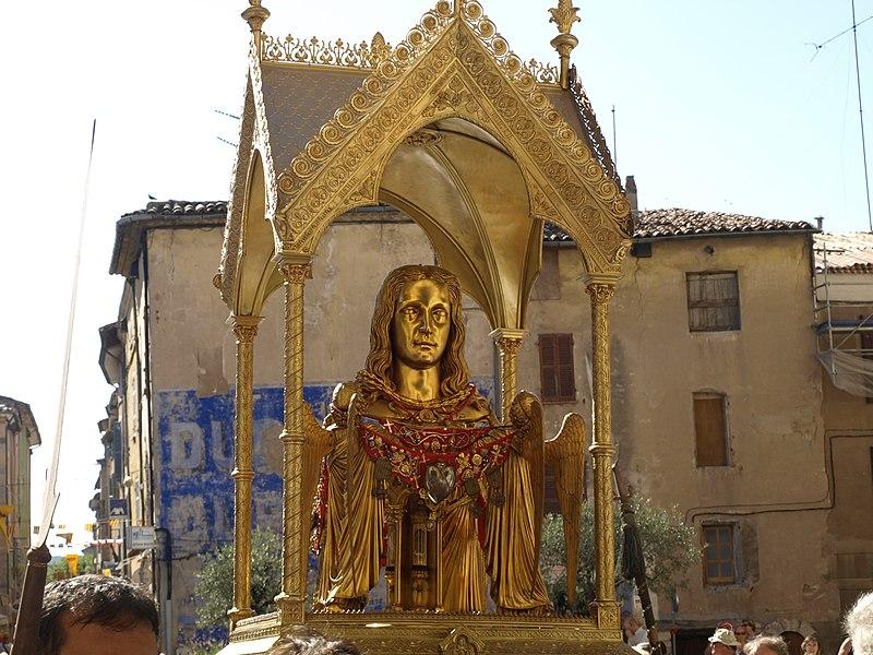 La processione in onore di S.Maria Maddalena!!
