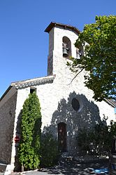 The church in Laborel