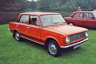 Fiat 124 - VAZ-21011