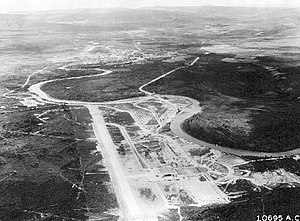 Ladd Army Airfield - Ladd Army Airfield, about 1943