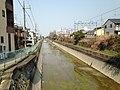 Lake Biwa Canal near Inari Station & Fushimi-Inari Station.JPG
