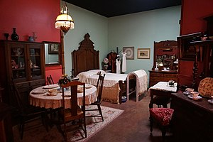 Lamar County Historical Museum - Image: Lamar County Historical Museum February 2016 12 (Swaim Rooms)