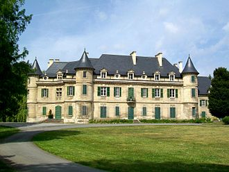 Lamorlaye - The chateau in Lamorlaye