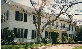 Lana Turner - Turner's former home in Beverly Hills where Johnny Stompanato was killed in 1958.
