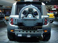 Land Rover DC100  Wikipedia