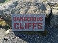 Lands' End dangerous cliffs sign.jpg