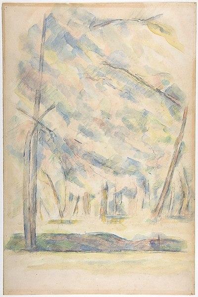 File:Landscape (recto); Sketch of rocks(?) (verso) MET DP809513.jpg