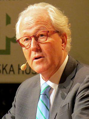 Lars Heikensten - Lars Heikensten speaking at the 2013 Nobel Week Dialogue in Göteborg, Sweden.