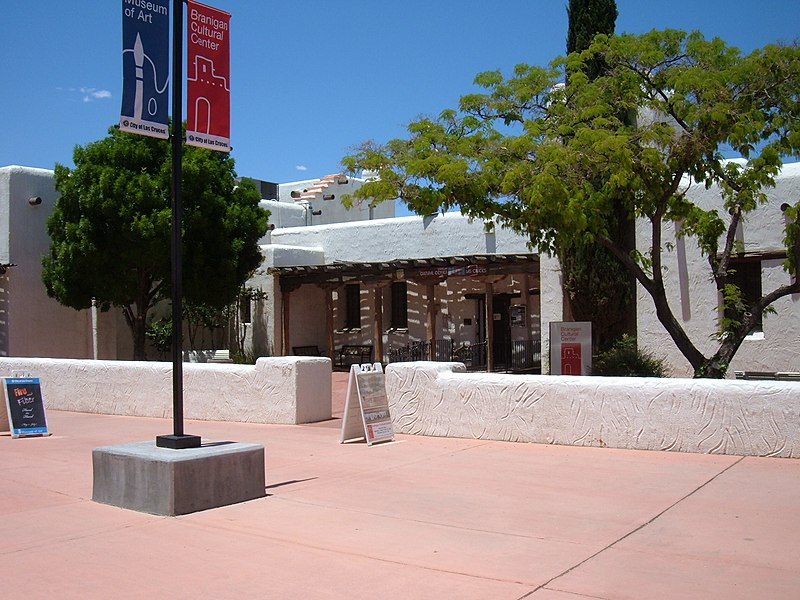 File:Las Cruces Branigan Cultural Center.jpg