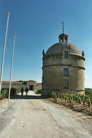 Château Latour - The tower at Château Latour