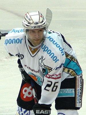 Lahti Pelicans - Jan Latvala was Pelicans captain for season 2010–11