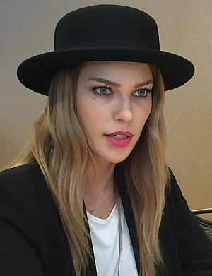 Lauren German - German at the 2015 San Diego Comic-Con