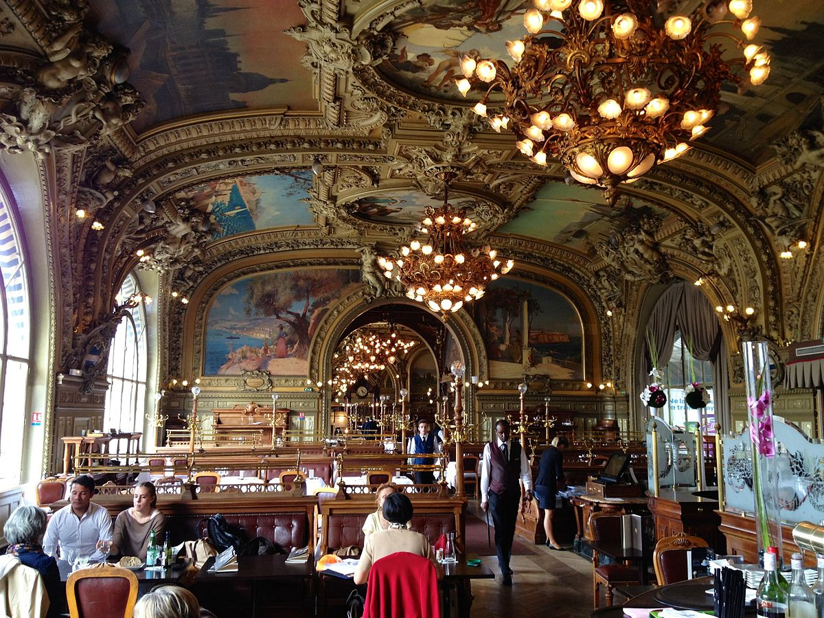 Le train bleu restaurant wikipedia