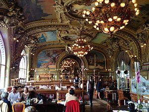Le Train Bleu (restaurant) - Dining Room at Le Train Bleu