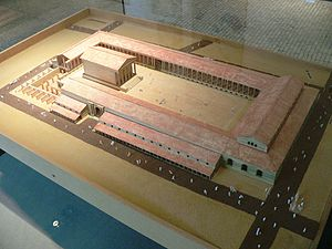 Lutetia - Model of forum of Lutetia, Musée Carnavalet