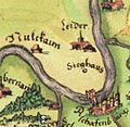 Leider ( Spessartkarte Paul Pfinzing 1594).jpg