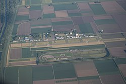 Luchtfoto uit mei 2014