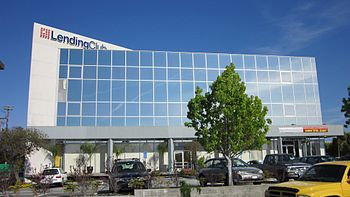 Lending Club headquarters in Redwood City, Cal...
