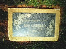 Leo Carrillo Grave.jpg