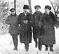 Leon Trotsky Lev Kamenev Brest-Litovsk negotiations.jpg