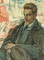 Leonid Pasternak - Portrait painting of Rainer Maria Rilke.jpg