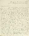 Letter from (William T.) Sherman, camp on the American Fork, to My Dear Friend, November 14, 1848.jpg