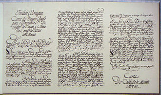 """Xu Guangqi - A Portuguese translation of """"Doctor Paul""""'s letter to the king of Portugal"""
