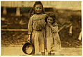 Lewis Hine, Maud and Grade Daly, 5 and 3 years old, shrimp pickers, Bay St. Louis, Mississippi, 1911.jpg