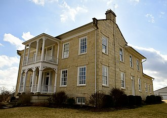 National Register of Historic Places listings in Cole County, Missouri - Image: Lewis and Elizabeth Bolton House