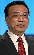 Li Keqiang, premier de China.