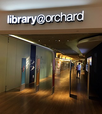 Library@orchard - Image: Library@Orchard, Singapore, July 2017