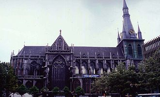 Roman Catholic Diocese of Liège - The Saint Paul Cathedral in Liège has been the bishopric's cathedral since 1801