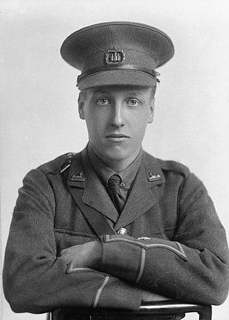 Dorset Regiment - Image: Lieutenant William Gervace Vizard (6279211131)