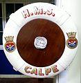 Lifebouy of HMS Calpe shore establishment.jpg