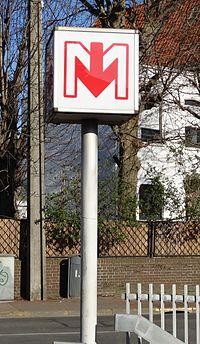 Ligne 2 du métro de Lille-Métropole - Station Mitterie (03).JPG