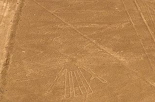 Nazca Flamingo geoglyph