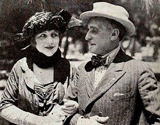 Paul Weigel - Lila Leslie and Paul Weigel in 1921