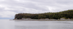 Lincoln Island (Juneau, Alaska) - Southern tip of Lincoln Island (2011)