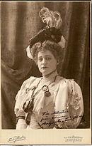 Augusta Lindberg, 1906.