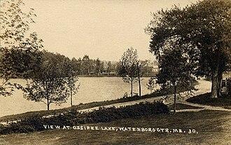 Waterboro, Maine - Little Ossipee Lake