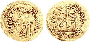 Liuvigild - A coin of Liuvigild.