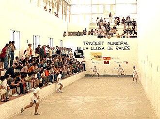 Valencian pilota - Raspall match, 2007