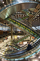 Lloyd's Building - Escalators fisheye.jpg