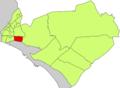 Localització de Son Malferit respecte del Districte de Llevant.png