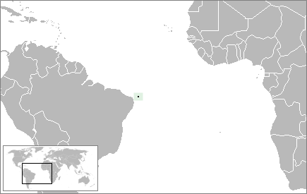 Location Rocas Atoll