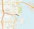 Location map of the Royal Palm Hotel in Miami.png