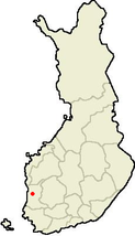 Location of Noormarkku in finland.PNG