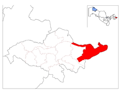 Location in Andijan Region