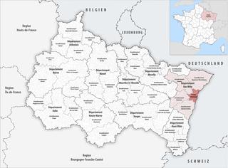 Arrondissement of Strasbourg Arrondissement in Grand Est, France